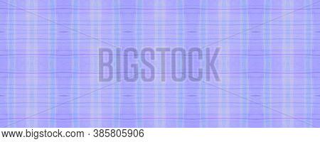 Girl Check Plaid. Watercolour Stripe Textile. Modern Gingham Tablecloth. Seamless Check Plaid. Briti