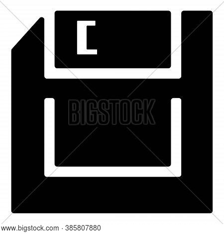 Save Icon Or Floppy Disk Icon Vector Illustration. Computer Disc, File Storage, Diskette Symbols.