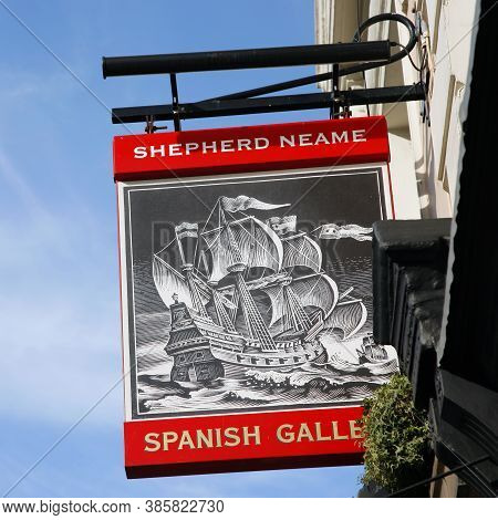 English Pub Sign