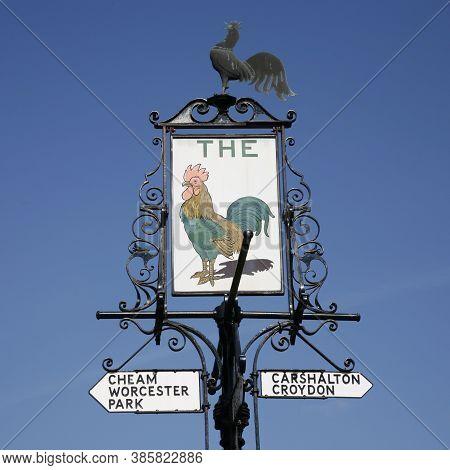 English Pub Sign