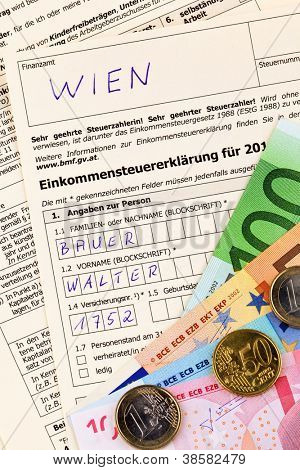 an austrian tax return for income tax is required.