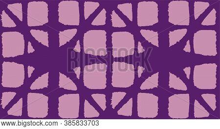 Japanese Tie Dye Seamless Pattern. Bohemian Geometric Asian Tie Dye Texture. Bohemian Kimono Textile