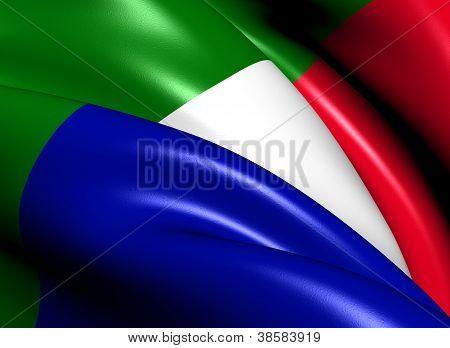 Transvaal y la bandera de la República Sudafricana