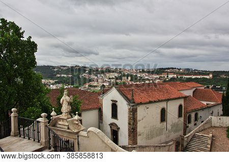 The View On Coimbra City, Portugal