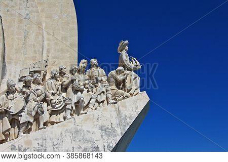 Padrao Dos Descobrimentos In Belem, Lisbon City, Portugal