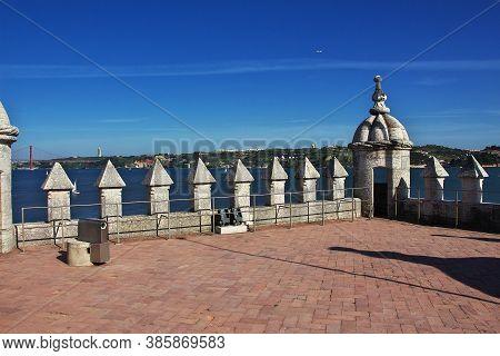 Santa Maria De Belem - The Tower Of Belem, Portugal