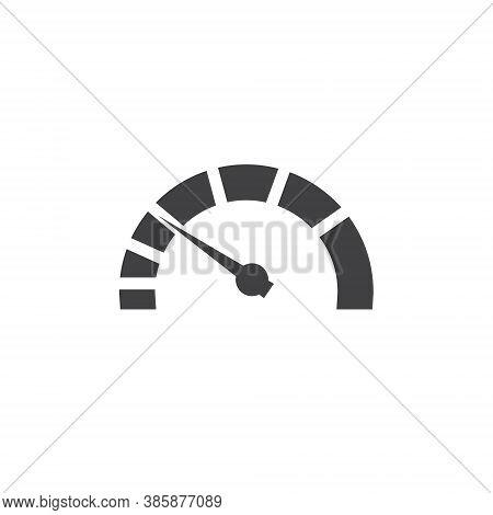 Speedometer Logo - Minimal Vector Speed Car Auto Gauge Power Fast Arrow Dashboard Panel Measurement