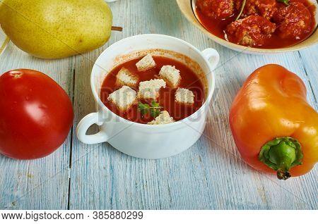 Sicilian Tomato Soup