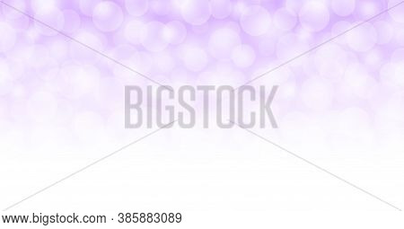 Abstract Purple White Bokeh For Background, Purple Soft With Bokeh Backgrounds, Glowing Purple Brigh
