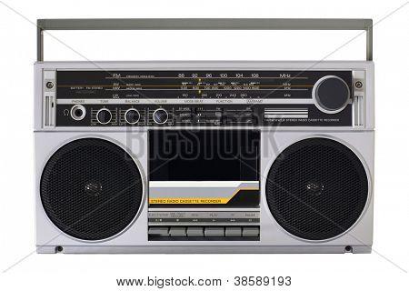 Retro radio from the 80s