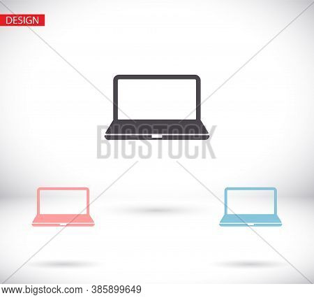 Device Vector Icons: Smart Phone, Tablet, Vector Icons Laptop And Desktop Computer. Vector Icons Vec