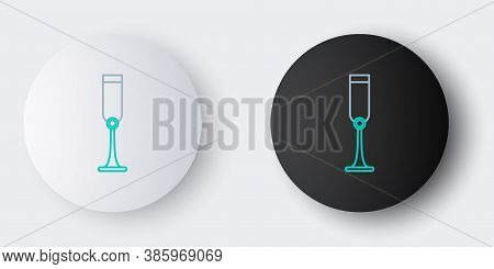Line Jewish Goblet Icon Isolated On Grey Background. Jewish Wine Cup For Kiddush. Kiddush Cup For Sh