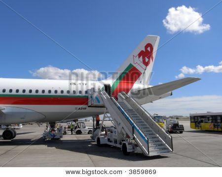 Tap Airbus A321 Plane
