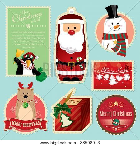 Christmas decorations element 1