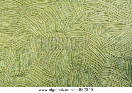 Green Decorative Textured Wallpaper
