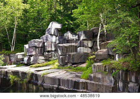 Historic Marble Quarry In Dorset, Vermont