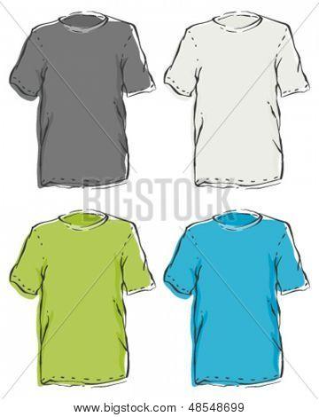 Menâ??s Blank T-Shirts