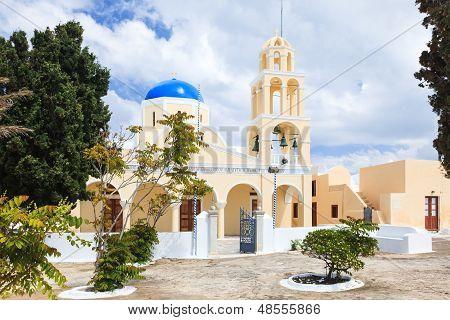 St George Church Oia Santorini Greec