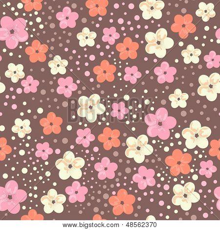 cherry blossom seamless background