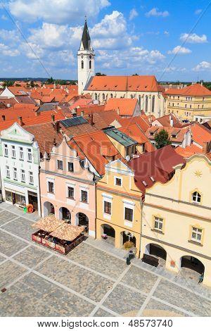 Historical City Of Trebon (in German Wittingau), Czech Republic