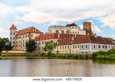 Jindrichuv Hradec (neuhaus) Castle In Southern Bohemia, Czech Republic