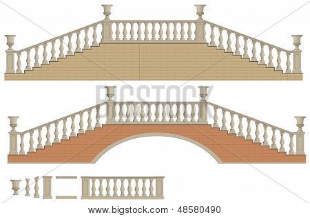 Vector two-way ladder and bridge