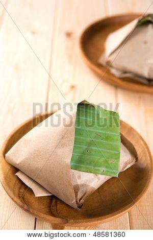 Traditional Malay food Nasi Lemak