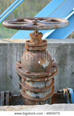 Rusted Valve