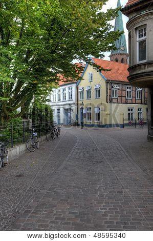 Oldenburg Altstadt Quiet Street