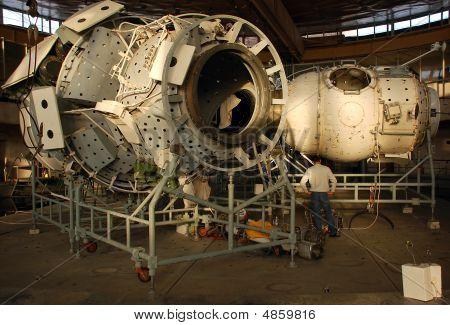 International Space Station Russian Segment Mockup At The Russian Hydrolab