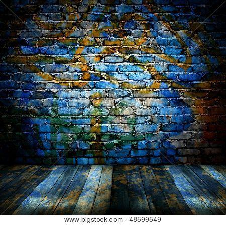 grunge bricks wall