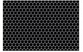 for background, Pattern - Black Hexagon, vector poster