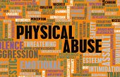 Physical Abuse and Violence as a Abstract poster