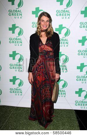 Angela Lindvall at the Global Green USA's 10th Annual Pre-Oscar Party, Avalon, Hollywood, CA 02-20-13
