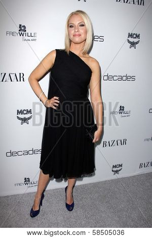 Leslie Grossman at Harper's Bazaar Celebrates The Launch Of The Dukes of Melrose, Sunset Tower, West Hollywood, CA 02-28-13