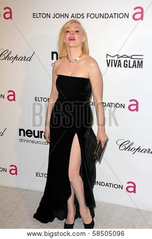 Rose McGowan at the Elton John Aids Foundation 21st Academy Awards Viewing Party, West Hollywood Park, West Hollywood, CA 02-24-13
