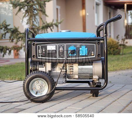 Portable Electric Generator.