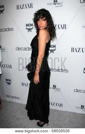 Paz de la Huerta at Harper's Bazaar Celebrates The Launch Of The Dukes of Melrose, Sunset Tower, West Hollywood, CA 02-28-13