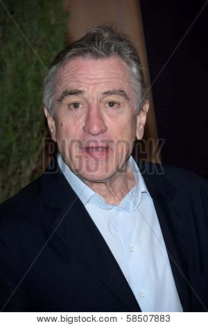 Robert De Niro at the 85th Academy Awards Nominations Luncheon, Beverly Hilton, Beverly Hills, CA 02-04-13