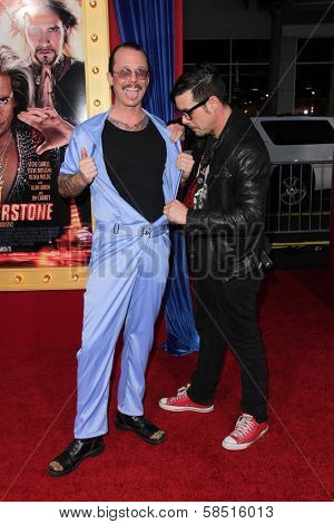 Robert Patterson and Jeff Hilliard at the World Premiere of