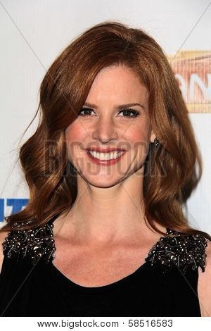 Sarah Rafferty at the