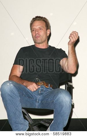 HOLLYWOOD - AUGUST 01: Michael Biehn at 97.1 Free FM's Film Freak Screening of The Terminator on August 01, 2006 at Cinespace in Hollywood, CA.