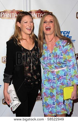 Anna Torv, Rebecca Mader at the