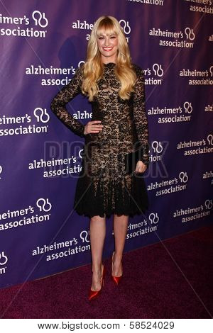 Beth Behrs at the 21st Annual
