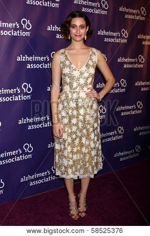 Emmy Rossum at the 21st Annual