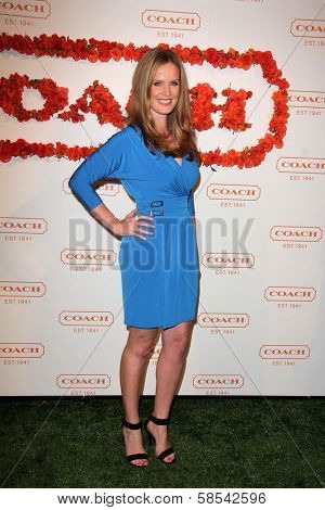 Rebecca Mader at Coach's 3rd Annual Evening of Cocktails and Shopping benefiting  the Children's Defense Fund, Bad Robot, Santa Monica, CA 04-10-13