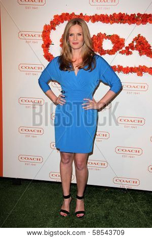 Rebecca Mader at Coach's 3rd Annual Evening of Cocktails and Shopping benefiting  the Children's Defense Fund, Bad Robot, Santa Monica, CA 04-10-12