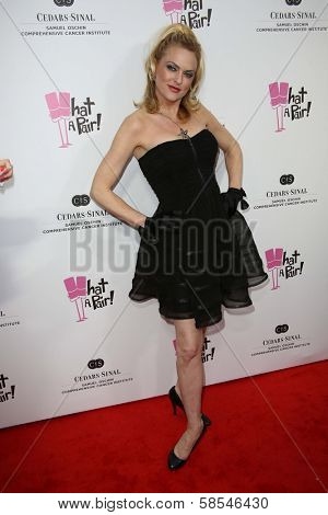 Elaine Hendrix at the What a Pair Benefit 2013, Eli Broad Stage, Santa Monica, CA 04-13-13