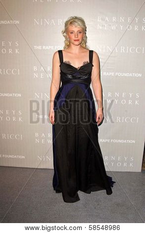 BEVERLY HILLS - APRIL 26: Bryce Dallas Howard at the Nina Ricci Fashion Show and Gala Dinner to Benefit The Rape Foundation by Barneys New York on April 26, 2006 in Beverly Hills, CA.