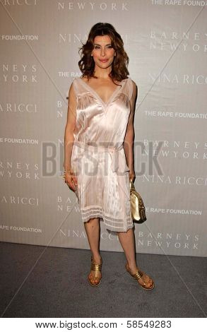 BEVERLY HILLS - APRIL 26: Jo Champa at the Nina Ricci Fashion Show and Gala Dinner to Benefit The Rape Foundation at Barneys New York on April 26, 2006 in Beverly Hills, CA.